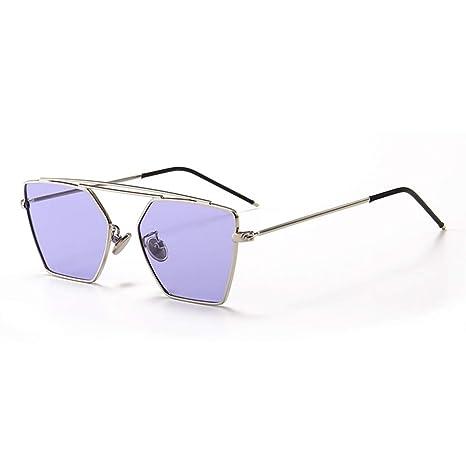 BAOLH Gafas de Sol Polígono Irregular Gafas de Sol ...