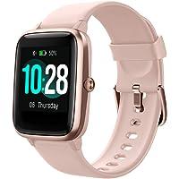 GOIACII Smartwatch Hombre Mujer, Reloj Inteligente Impermeable Pulsera Actividad con Monitor de Sueño Pulsómetros Podómetro Contador de Caloría Reloj Deportivo Compatible con iOS Android