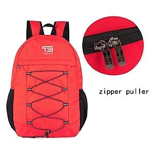 TIBAG 30L/35L Water Resistant Lightweight Packable Foldable Hiking Daypack Backpack