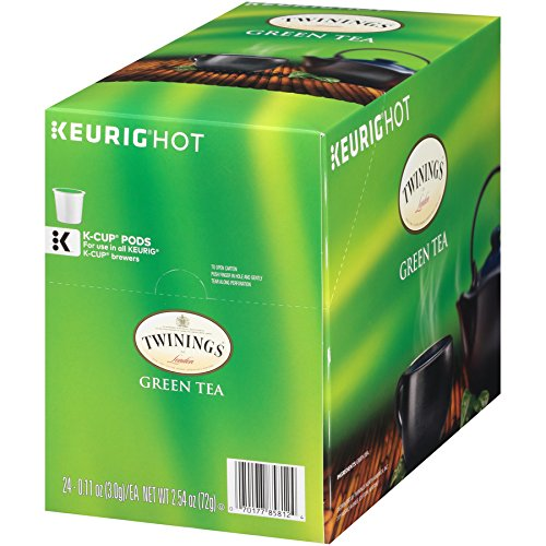 Twinings Of London Green Tea K Cups For Keurig 24 Count