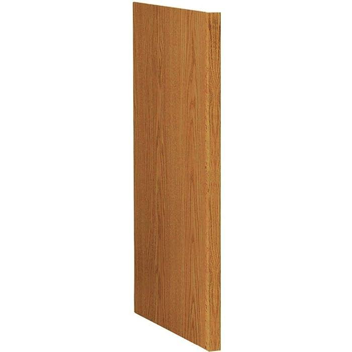 Hampton Bay 1.5 x 34.5 x 24 in. Medium Oak Dishwasher End Panel