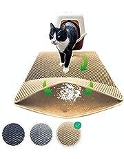 riijk Kattenbakmat, 75 x 58 cm, XXL mat kattentoilet, perfecte kattenbakmat voor een schone woning, kattenmat