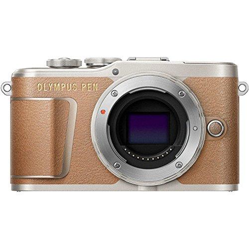 Olympus Pen E-PL9 Mirrorless Micro Four Thirds Digital Camera [Brown] + M.Zuiko Digital ED 14-42mm f/3.5-5.6 EZ Lens + M.Zuiko Digital ED 40-150mm f/4.0-5.6 R Lens