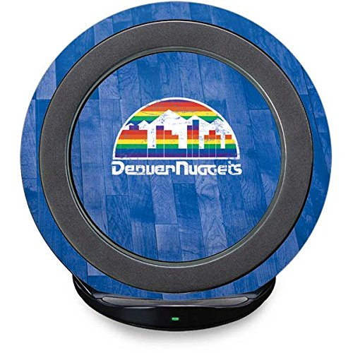 Denver Nuggets Fast Charge Wireless Charging Stand Skin - Denver Nuggets Hardwood Classics | NBA X Skinit (Nugget Pedestal)