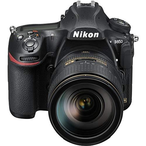 Nikon D850 with AF-S 24-120mm f/4 G ED VR Lens Kit International Model ()