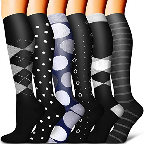 Compression Sock Women and Men-Best Running, Athletic Sports, Crossfit, Flight Travel