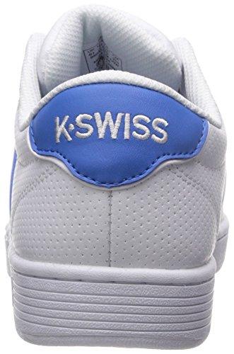 K-swiss Womens Domstol Pro Ii Sp Cmf Mode Sneaker Vit / Franska Blå