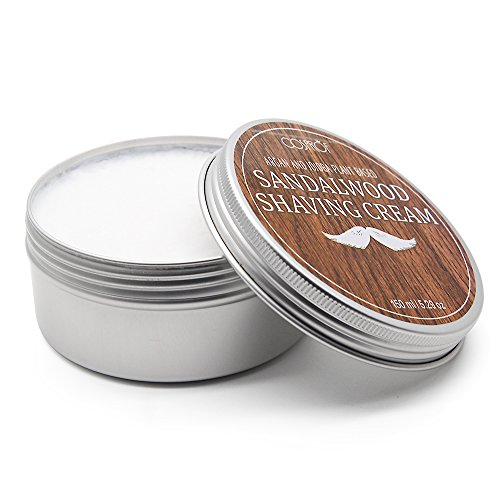 Genkent Lather & Wood Shaving Soap-Sandalwood - Simply the Best Luxury Shaving Cream - Tallow - Dense Lather with Fantastic Scent for the Worlds Best Wet Shaving Routine. 5.29 oz