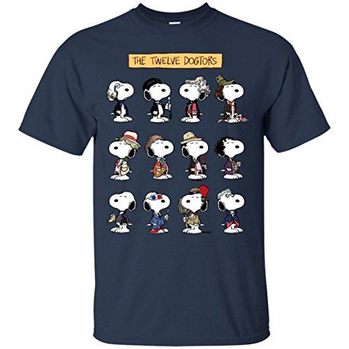 The Twelve Dogtors T-Shirt T-Shirts Tshirt Tshirts