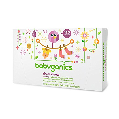 babyganics dryer sheets - 4