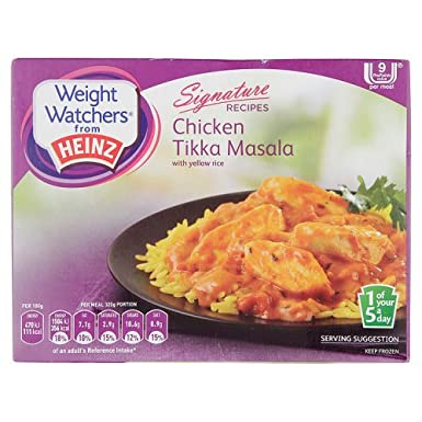 Heinz Weight Watchers Chicken Tikka Masala With Yellow Rice