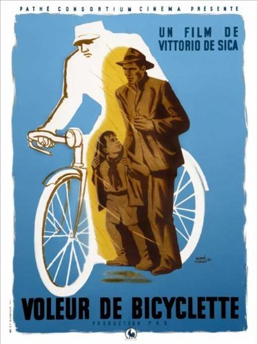 Bicycle Thieves POSTER Movie (11 x 17 Inches - 28cm x 44cm) (1948) (French Style A)