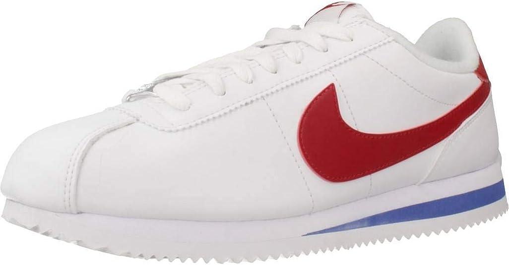 NIKE Mens Cortez Basic Leather Shoe, Zapatillas para Hombre: Amazon.es: Zapatos y complementos