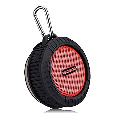 VicTsing Phoenix Portable Wireless Bluetooth 4.0 Waterproof Speaker 10 Hours Playing Time, 5W Speaker for Outdoors/Shower