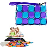 Regilt Girls DIY Assembly Handmade Handbag Cute Makeup Bag Intelligence Toys for Birthday Gifts & Party (Purple Blue)