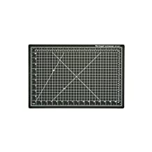 "Dahle 10671 Vantage Cutting Mat, 12"" x 18"", Black"