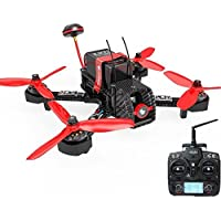 Walkera Furious 215 Racing Drone 600TVL Camera with F3 Flight Control Brushless Motor RTF Quadcopter DEVO 7 TX RX (Basic Version)