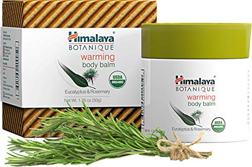 Himalaya Organic Warming Body Balm with Eucalyptus, Rosemary and Coconut Oil for Muscle and Joint Pain Relief 1.76 oz (50 - Balm Mint Pleasure