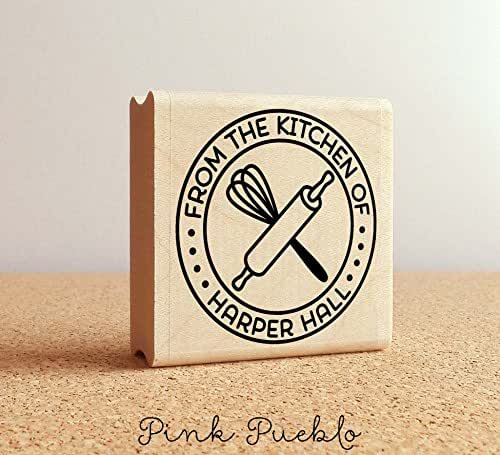 Amazon Com Personalized Baking And Cooking Rubber Stamp