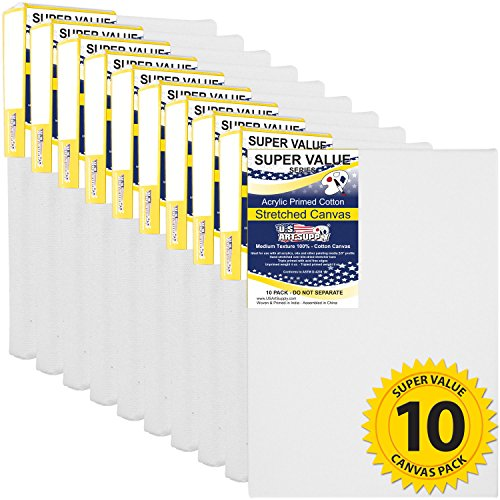 us-art-supply-8-x-10-inch-super-value-quality-acid-free-stretched-canvas-10-pack-3-4-profile-primed-