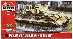 Airfix - Kit de modelismo, tanque King Tiger, 1:76 (Hornby A03310)