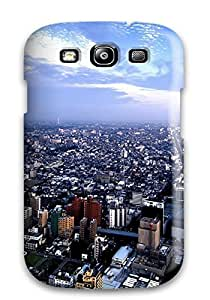 New Style New Design Shatterproof Case For Galaxy S3 (city) 1560256K51619047