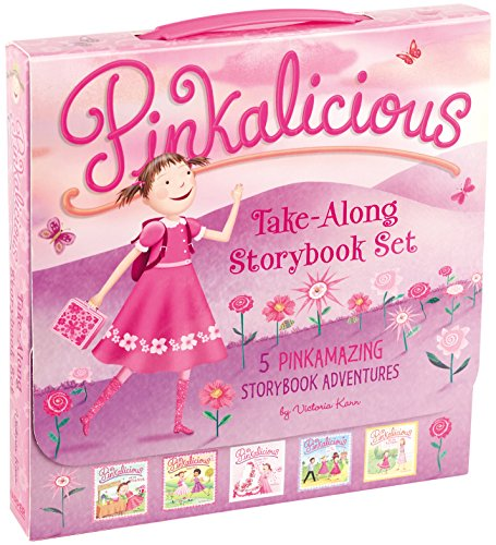 The Pinkalicious Take-Along Storybook Set: 5 Pinkamazing Sto