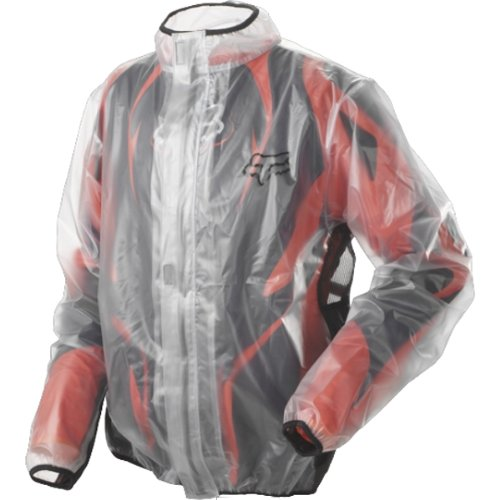 Fox Racing MX Fluid Men's Off-Road/Dirt Bike Motorcycle Jacket - Clear / - Racing Jackets Bike