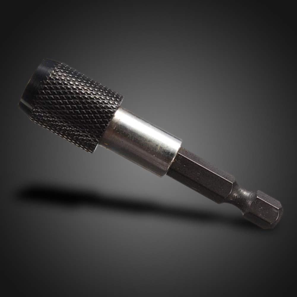 tige hexagonale 6,35 mm pour perceuse//perceuse//visseuse /à percussion ou tournevis magn/étique//porte-embout Bainuojia Lot de 6 porte-embouts aimant/és pour perceuse /à percussion 1//4