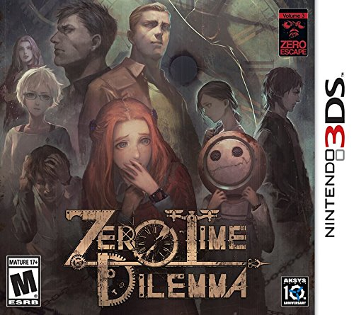 Amazon.com: Zero Time Dilemma  3DS: Nintendo 3DS: Aksys Games: Video Games