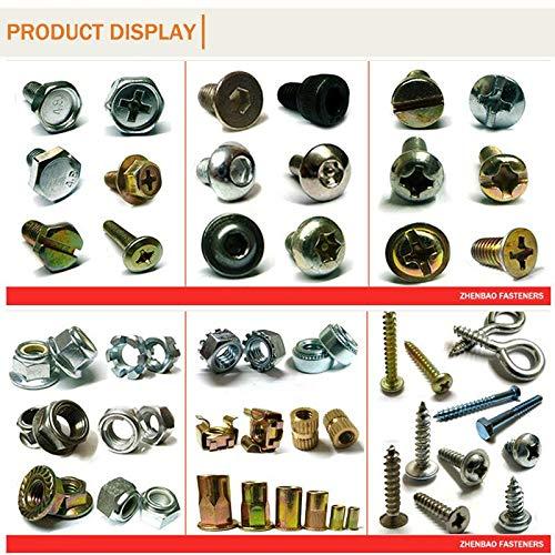 100pcs 304 Stainless Steel 3//8 unf Thread Inserts Ochoos 3//8-24unf x1D sus304 Wire Thread Repair Fasteners