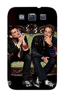 Catenaryoi Anti-scratch And Shatterproof Coldplay Phone Case For Galaxy S3/ High Quality Tpu Case