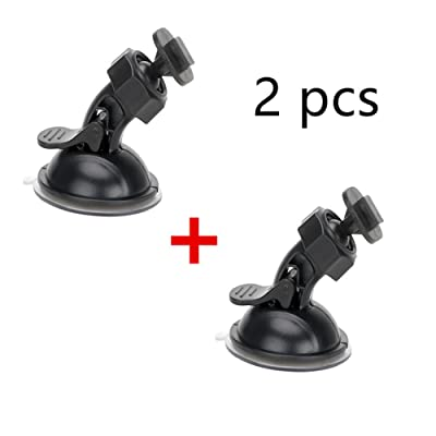 Dash Camera Suction Mount Cup Holder Vehicle Video Recorder Windshield & Dashboard for Yi Rexing V1P Dash Car DVR Camera GPS : Camera & Photo