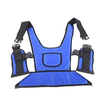 GFYWZ Cinturón de Seguridad para Silla de Ruedas Ajustable para Uso médico, Asiento de sillón
