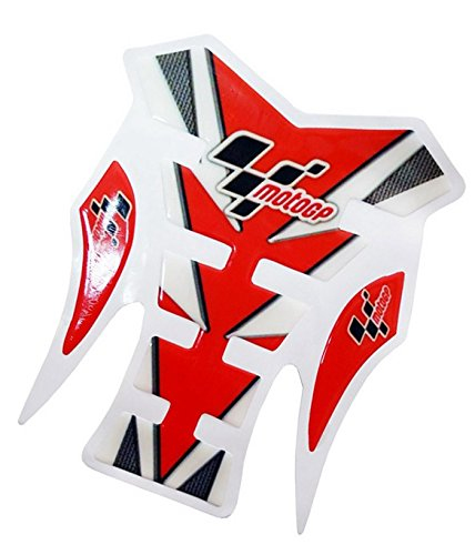 Motorcycle Tank Pad Racing Sports Logo Gas Protector Decal Sticker Accessories Red For 2009 2010 2011 2012 Yamaha YZF R1