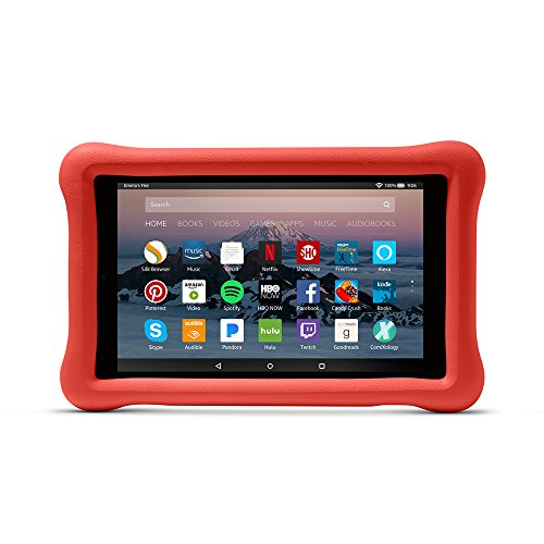 Amazon Kid-Proof Case for Amazon Fire HD 8 Tablet (7th Generation, 2017 Release), Punch Red