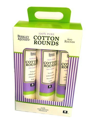 Berkley and Jensen 100% Pure Cotton Rounds 600 ct. by Berkley and - Stores Jensen Mall