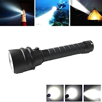 Poche Diving De Lot Lampe Plongée Torche Powerful mnvPyOwN80