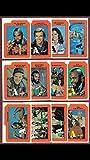 Retro Sticker Set A-Team (12) stickers complete set Mr T 1980s non-sport Retro Party