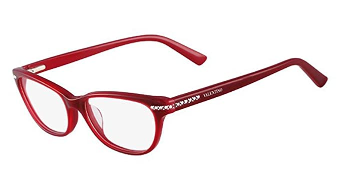 VALENTINO Eyeglasses V2646R 613 Red 51MM at Amazon Men\'s Clothing ...