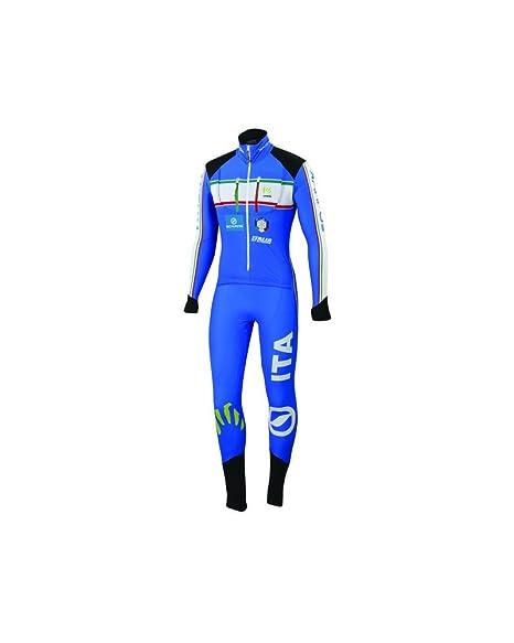 2150fda072 Karpos Tuta Italian Race Suit, Italian Blue (S): Amazon.it: Sport e ...