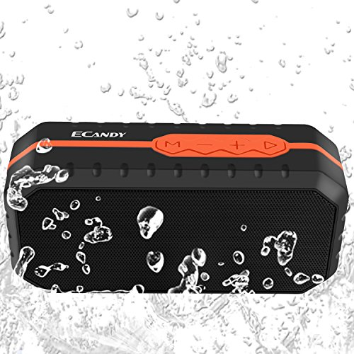 For Sale! Ecandy Waterproof Wireless Speakers,Unbreak waterproof Shockproof Bluetooth Stereo Speaker...