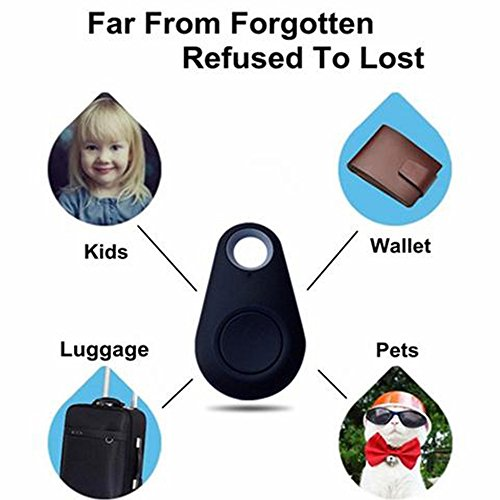 Price comparison product image The Best Smart Anti lost Dog Tracker with Bluetooth - Anti lost alarm keep your valuables within range for Kids Bag Wallet Keys Car Smart Phone (Pink)