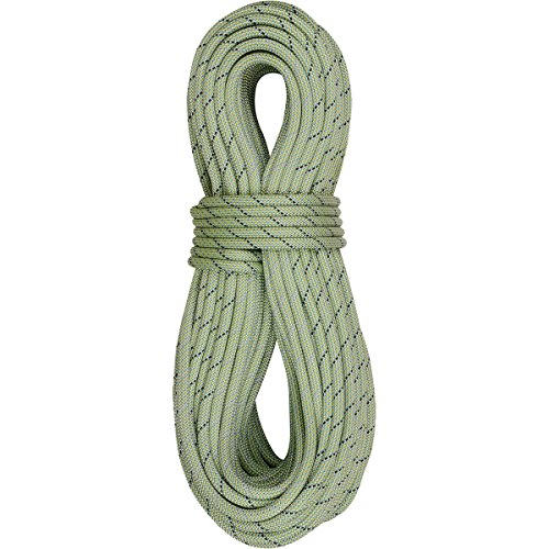 EDELRID - Tommy Caldwell DuoTec 9.6mm Dynamic Climbing Rope, Lime, 70m