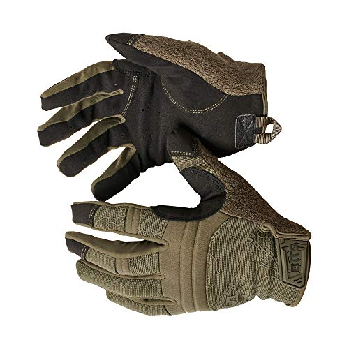 5.11 Competition Shooting Glv Men's Touch Screen Competition Shooting Tactical Glove, Style 59372, Ranger Green, Small