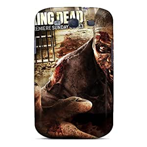 ChanceTom Case Cover For Galaxy S3 - Retailer Packaging 2013 The Walking Dead Season 4 Protective Case