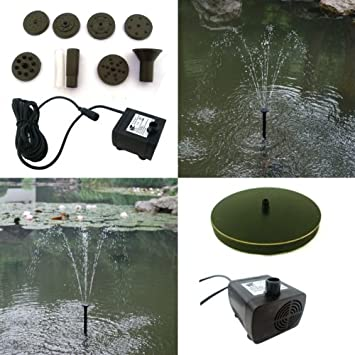 pk green water feature fountain pump up to 2m height garden pond