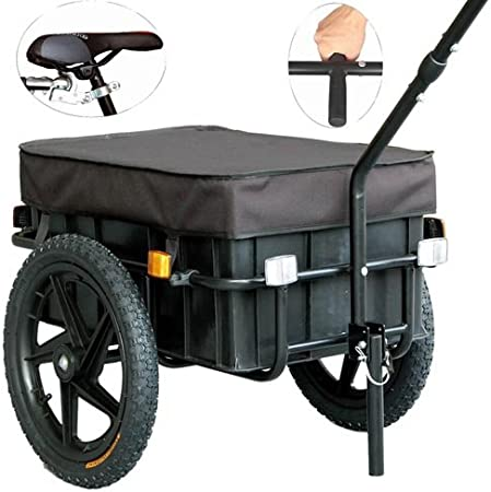 Veelar - Tiggo 20315 Carretilla/Remolque De Carga Para Bicicleta ...