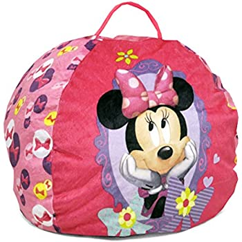 Amazon Com Disney Minnie Mouse Toddler Bean Bag Sofa