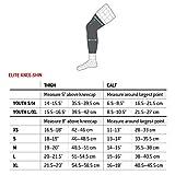 G-Form Elite Knee-Shin Guards(1 Pair), Black